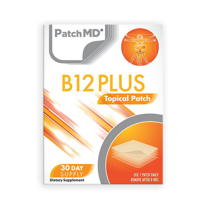 B12 Energy Plus Patch (30-Day Supply)