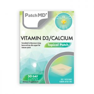 D3/Calcium Patch (30-Day Supply)