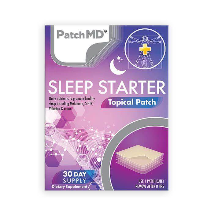 Sleep Starter Topical Patch – Buy One Get Two Free (90 day supply)
