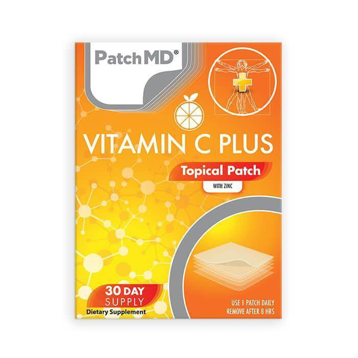 Vitamin C Plus Topical Patch – Buy One Get Two Free (90 day supply)