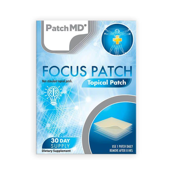 Focus Patch Topical Patch