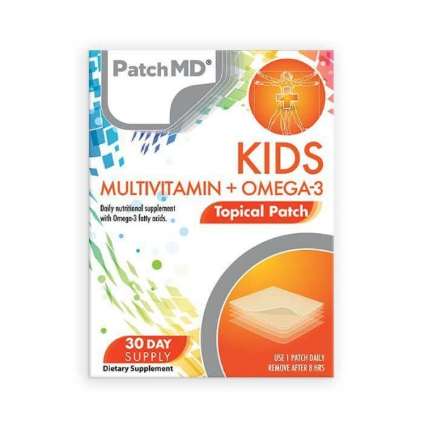 KIDs Multivitamin + Omega-3 Topical Patch