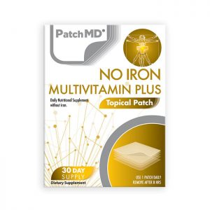 No Iron Multivitamin Plus Topical Patch