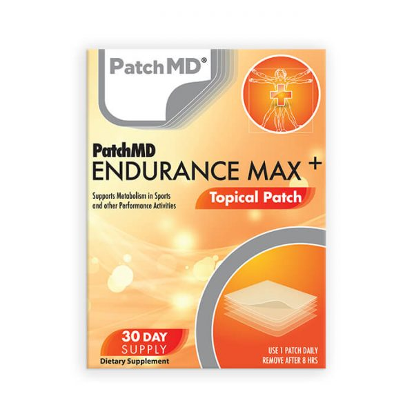 Endurance Max Plus Topical Patch (30-Day Supply)