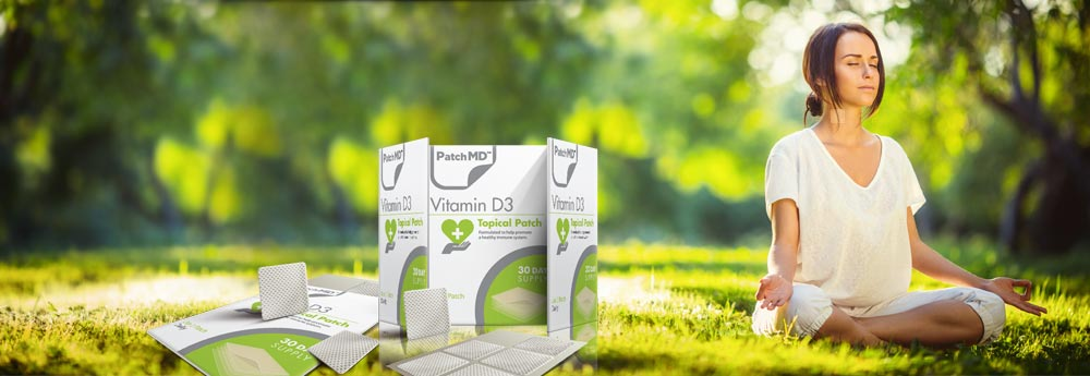 Our Vitamin D3 Patch Now Includes Magnesium