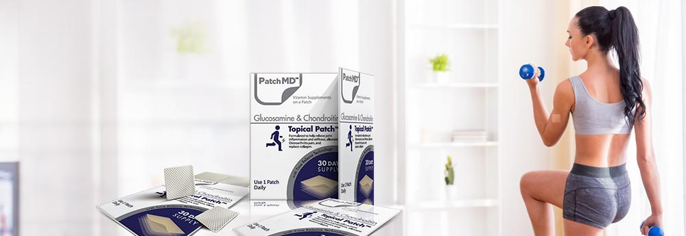 Rebuilding Healthy Joints with PatchMD Glucosamine & Chondroitin Plus