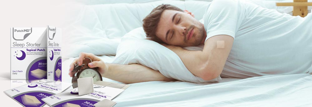 Rested and Ready To Go With PatchMD's Sleep Starter Melatonin Patch